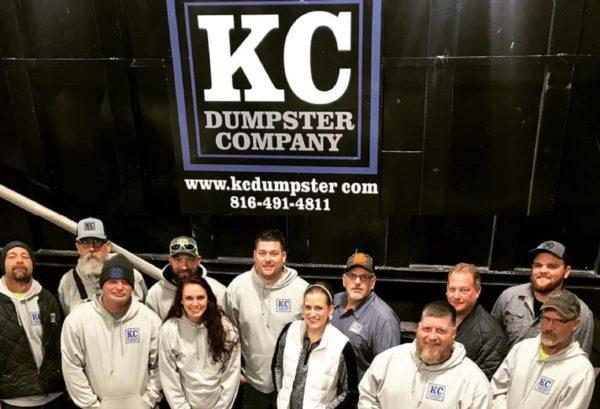 kc dumpster company team