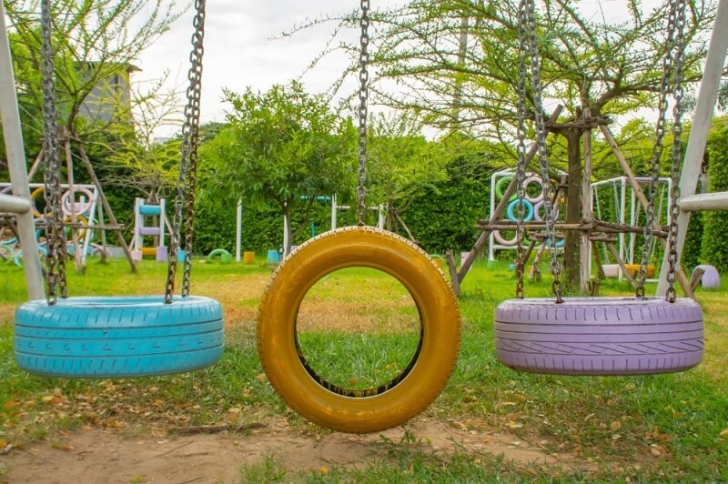 how to reuse and recycle old tires