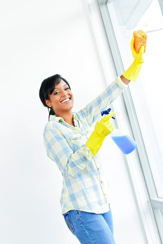 indoor house cleaning checklist