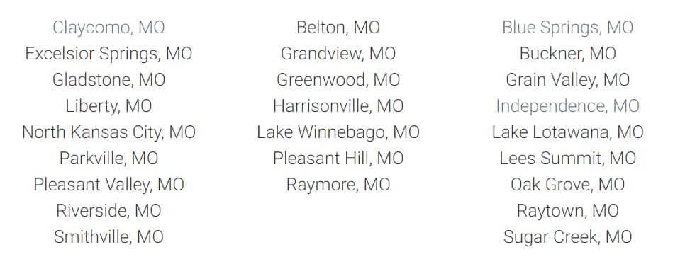 kc dumpster locations served